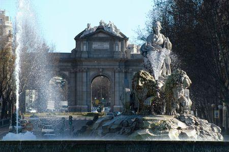 Cibeles and Alcala, Madrid, Spain
