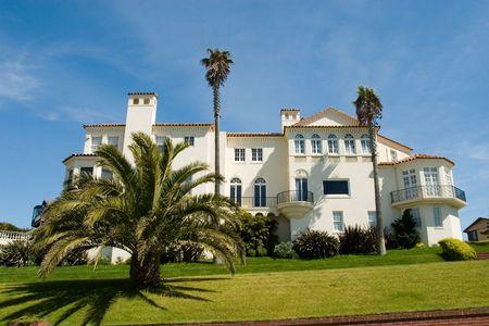 herrenhaus: Villen in San Francisco Kalifornien Lizenzfreie Bilder