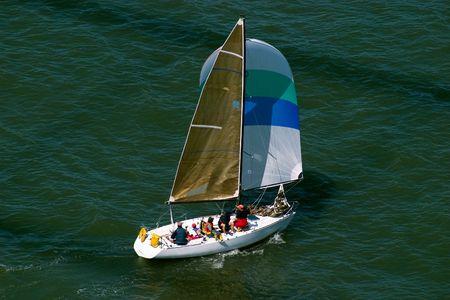 Sail Boat, San Francisco Bay