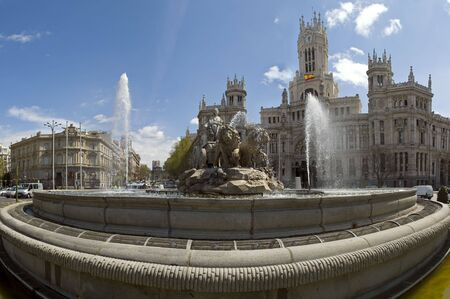 More of the cibeles in my portfolio Stock Photo