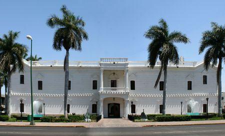 Culiacan, Sinaloa, Mexico city hall 版權商用圖片