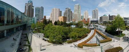Yerbabuena Center, Big file, San Francisco, California, Stiched images Stock Photo