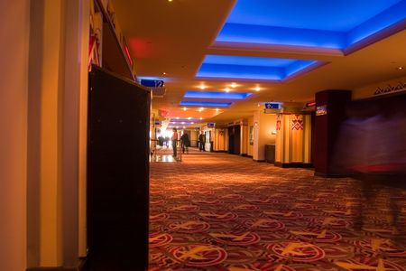 Movie Theather Hallway