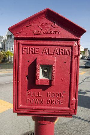 Fire Alarm Banco de Imagens
