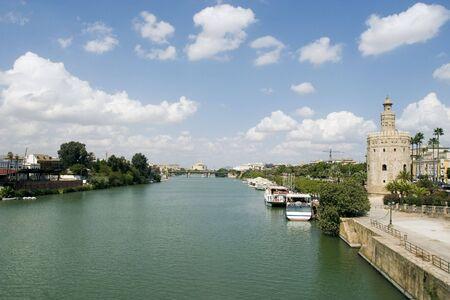 View of the Guadalquivir river