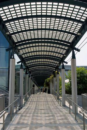 Hallway in Yerbabuena Center