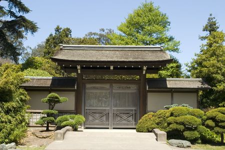 The Japanese Tea Garden in Golden Gate Park is the type of Japanese garden known as a wet walking garden, although it has a Zen garden, or dry garden area as well. Golden Gate Parks Japanese Tea Garden is the oldest public Japanese garden in the United S