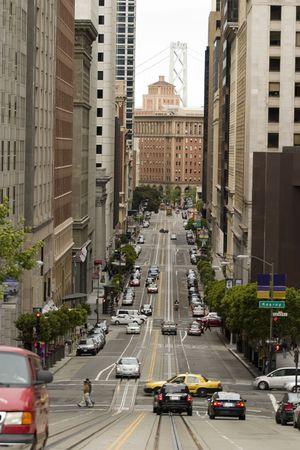 California Street, San Francisco Stock Photo - 991493