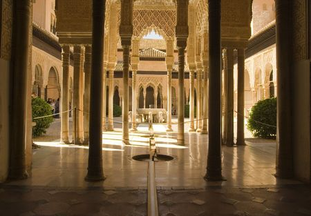 The Alhambra Lion Fountain