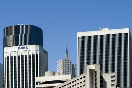 Downtown San Francisco Buildings in a sunny day Stock Photo - 1007707