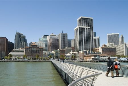 Downtown San Francisco Buildings in a sunny day Stock Photo - 1007724