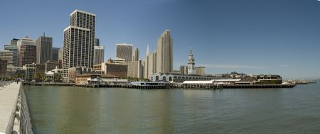 Downtown San Francisco Buildings in a sunny day Stock Photo - 1007732