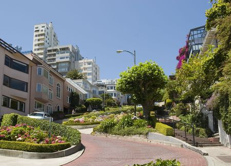 coit: Lombard Street in the crookedest street in the world, San Francisco
