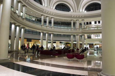 San Francisco Shopping center great place for upscale clothes Stock Photo