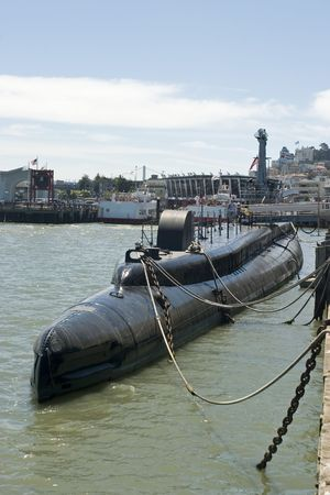 World War 2 submarine in San Francisco California