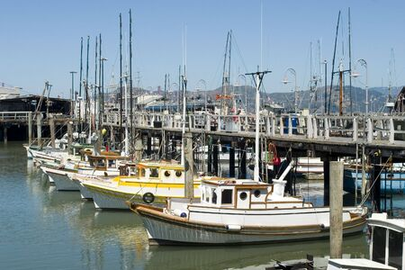 Marina in fisherman Warf San Francisco