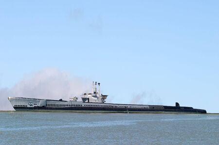 World War 2 submarine in San Francisco California