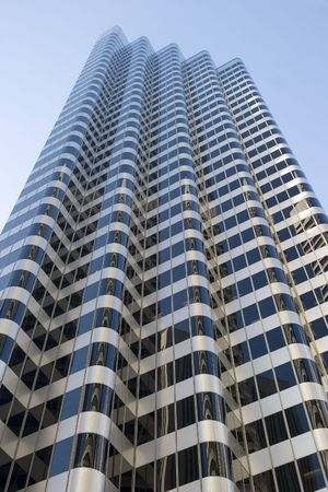 Skyscrapers in financial district San Francisco California