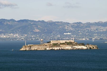 Alcatraz National Park in San Francisco California photo
