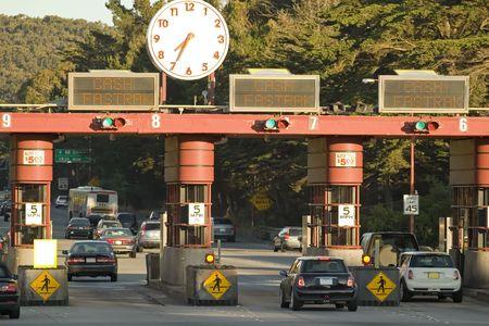 Golden Gate Toll Road San Francisco California