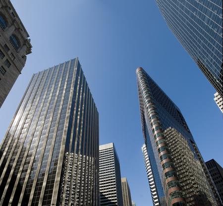 Down Town San Francisco Sky Scraper 版權商用圖片