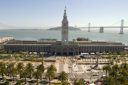 Ferry Building in daylight, San Francisco California