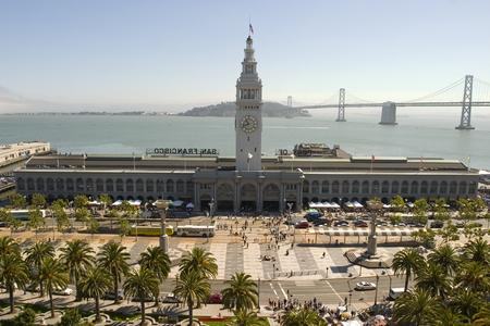 Ferry Building in daylight, San Francisco California
