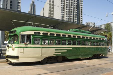 Tram in San Francisco California