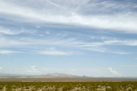 mohave: Mohave Desert with Train