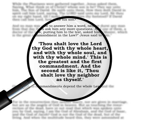 commandment: Greatest Commandment of Jesus