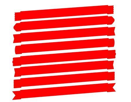 diagonal: Diagonal banner ribbon set Vector