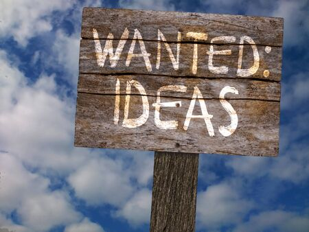 new opportunity: An illustration of Wanted Ideas Old Wood Wooden Sign