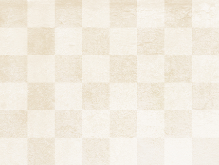Traditional paper texture beige check 写真素材