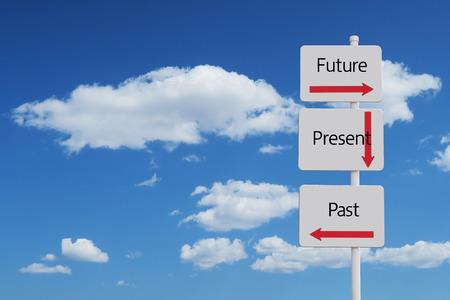 future past present sign