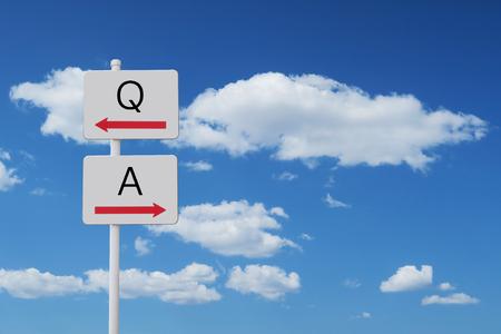 Q & A サイン