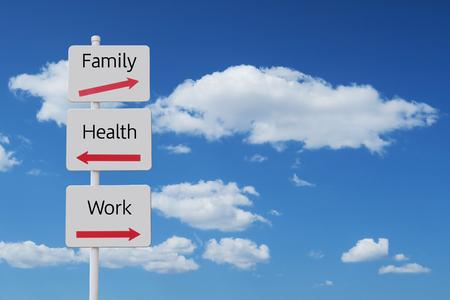 union familiar: Signo de equilibrio de trabajo