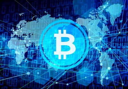 bit coin network world