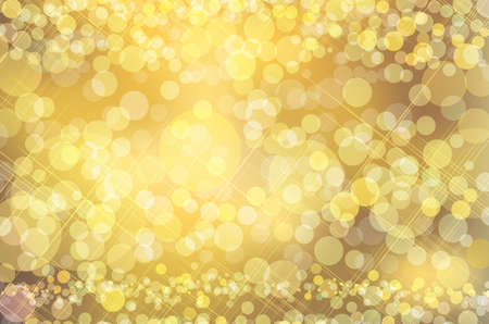 freeze: abstract gold background Stock Photo