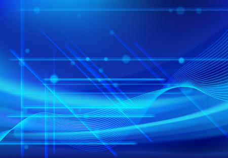 Wellenlinie abstrakte Hintergründe blau