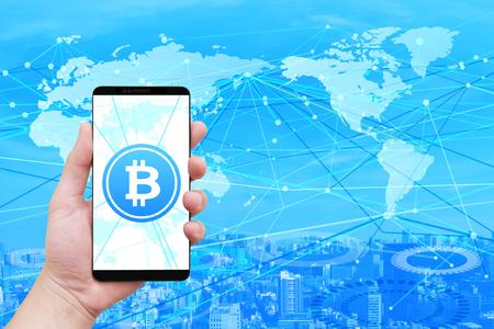 bit coin network smartphone