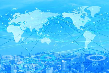business network background