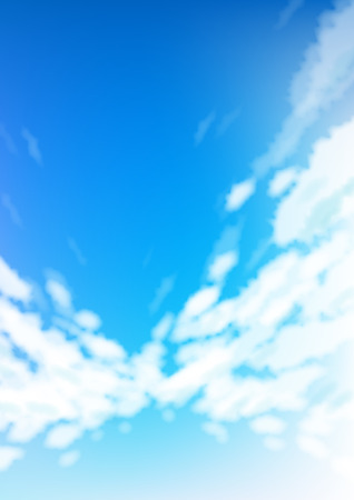 blue sky and cloud abstract background