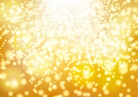 Golden glowing light christmas gradient background Banco de Imagens