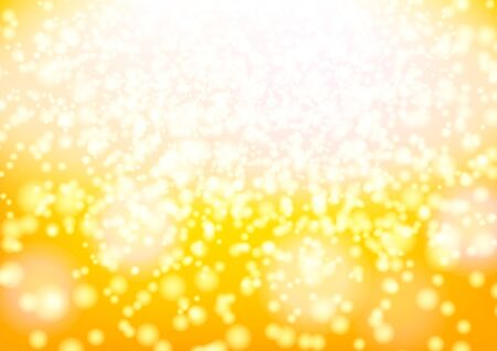 yellow glowing light christmas gradient background