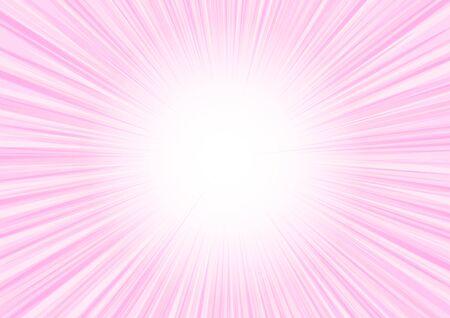 pink radial glitter background