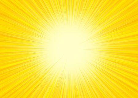 yellow radial glitter background