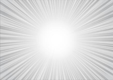 silver radial glitter background Imagens
