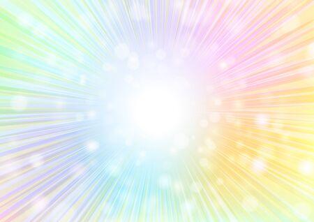 multicolor radial glitter background