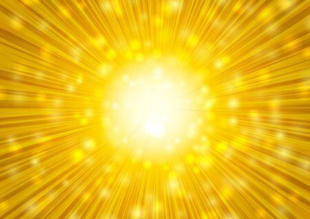 gold radial glitter background Imagens