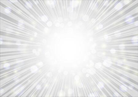 silver  radial glitter background